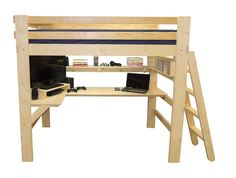 College Bed Lofts: Ording a Loft Bed or Bunk Beds for Youth Teen College Students and Adults