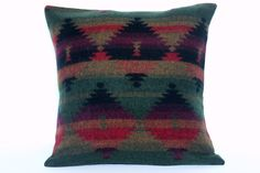 Cozy Southwestern - Theme for living room. Soft & Cozy Southwestern Wool Pillow Cover in Canyon, Fall/ Winter