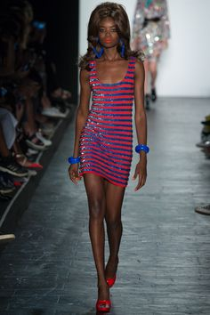 Maria Borges, Jeremy Scott Spring 2016 Ready-to-Wear Collection Photos - Vogue