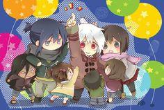 #No.6 No 6, Chibi, Kawaii, Japanese, Manga, My Favorite Things, Cute, Anime, Pictures