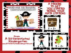 Freebie Differentiated Math to meet Kindergarten Common Core A Differentiated Kindergarten: Differentiated Math Stations . and a Freebie Math For Kids, Fun Math, Math Activities, Math Games, Math Resources, Differentiated Kindergarten, Teaching Math, Differentiated Instruction, Kindergarten Addition