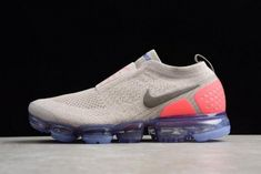 best service a5a37 c7f35 New Arrival Mens and WMNS Nike Air VaporMax Flyknit Moc 2 Moon Particle  Solar Red-