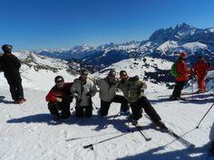 LOS ALPES  Increíble viaje a esquiar a la estación de AVORIAZ en el sector de Les Portes du Soleil, el más grande del mundo. Después de una semana esquiando no nos habíamos recorrido ni la mitad de las pistas.