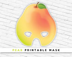 Printable Masks, Party Printables, Halloween Fruit, Last Minute Costumes, Paper Mask, Animal Masks, Mask Party, Photo Booth Props, Etsy App