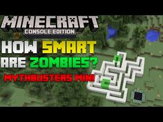 Minecraft Mythbusters Mini: HOW SMART ARE ZOMBIES REALLY? | Difficult Maze Test - http://dancedancenow.com/minecraft-backup/minecraft-mythbusters-mini-how-smart-are-zombies-really-difficult-maze-test/
