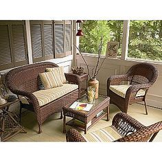 Bridgeton 4 Pc. Seating Set- Country Living