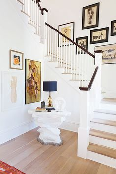 Sweeping staircase in Darius Rucker's home, Waiting on Martha