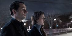 """This image released by FX shows Matthew Rhys, left, and Keri Russell in a scene from """"The Americans."""" The program iss nominated for an Emmy on Thursday for outstanding drama series. The Emmy Awards will be held on Monday, Sept. Russell and R Latest Movies, New Movies, Movies To Watch, Keri Russell, Buffy Summers, Emily Deschanel, David Boreanaz, Best Series, Tv Series"""