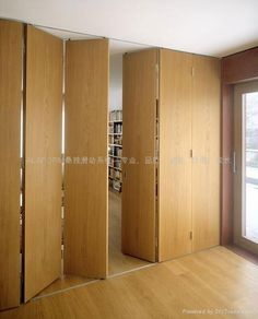 timber concertina doors - Google Search