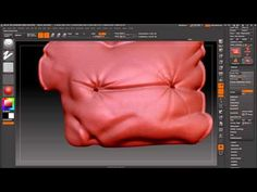 Zbrush Sofa Sculpt - YouTube
