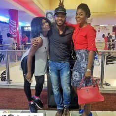 Squad is coming to Genesis Cinemas Abuja Tomorrow! #ICYMI from @a_yinna -  Saw @dinnerthefilm tonight flanked by these Super Delectables right after! Cc : @omonioboli @ufuomamcdermott  If you haven't seen @dinnerthefilm yet you are on a ....... Never mind.  #DontPlayYourself   Congrats @kingjfranklyn   #WomenInFilm #WomenPushingBoundaries