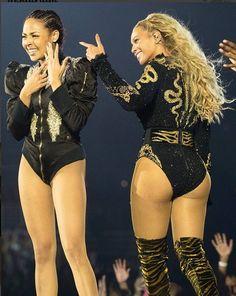 Beyonce and Ashley