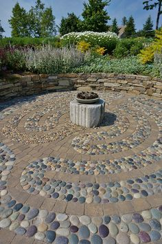 Stone labyrinth | by KarlGercens.com GARDEN LECTURES