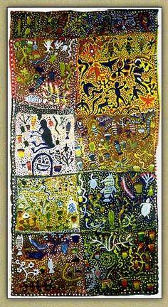 Australian Aboriginal Art by Willie & Moima Gudabi