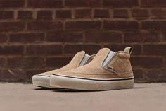 "Vans Mid Slip SF ""Tan"" - EU Kicks: Sneaker Magazine"