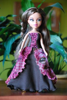 Bratz 10 handmade ball gowns by LucieVran on Etsy Bratz Doll, Handmade Dresses, Monster High, Pink Dress, All Things, Gypsy, Ball Gowns, Barbie, Bohemian