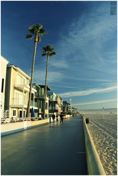 Hermosa Beach...rent bikes or roller blades and cruise The Strand