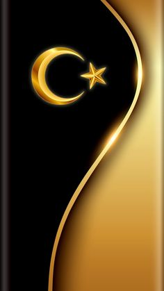 Pin on Gold Wallpaper Android Wallpaper Black, Phone Screen Wallpaper, Gold Wallpaper, Wallpaper App, Wallpaper Backgrounds, Islamic Wallpaper, Luxury Wallpaper, Tapete Gold, Turkey Flag