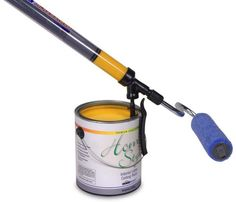 House painting can be a messy job. Paint can get everywhere, and the constant moving up and down to get more paint on your roller or brush can make anyone sore.   Enter the HomeRight paint stick. It's designed with an EZ twist feature that makes painting easier than ever before!   The handle actually …