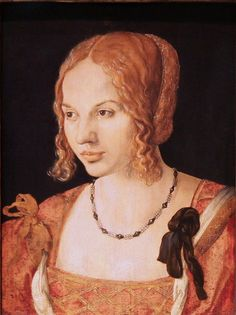 17 0 30 Albrecht Durer 1471-1528 Jeune Vénitienne KHM Vienne Printmaking 805197f95df5