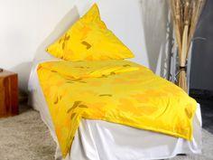 """Wilson Gabor Fleece Bettwäsche """"Sonnenschwarm"""" 135x200 / 80x80cm"""