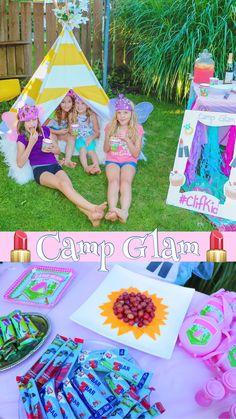 Camp Glam #CLIFKid #Ad