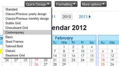 timeanddate january 2012