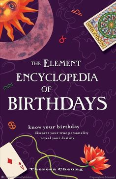 Browse Inside The Element Encyclopedia of Birthdays by Theresa Cheung
