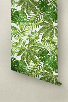 Aralia feuilles motif papier peint papier peint amovible
