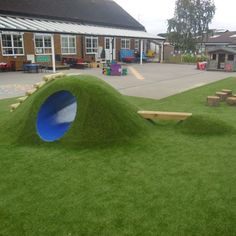 Image result for dog yard artificial grass tunnel