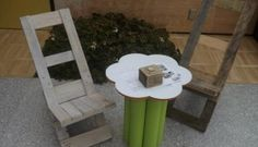 DIY Reclaimed Pallet Fold-able Chairs
