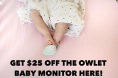 The Secret to Better Sleep Moms: Owlet Baby Monitor