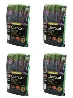Holland Plastics Original Brand 4 X British Bioregional Charcoal Easy To Light With No Firelighters Required Benefits British Woodland Habitats 3Kg >>> Visit the image link more details.