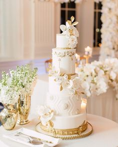 Always love a dreamy wedding in the crystal ballroom✨🥂With Tall Wedding Cakes, Luxury Wedding Cake, Gold Wedding Theme, Arts And Crafts For Teens, Cake Gallery, Wedding Cake Inspiration, Elegant Cakes, Crystal Wedding, Love Cake