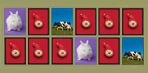 juegos de memoria para niños, online y gratis. con animales de granja