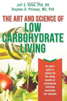 The Art and Science of Low Carbohydrate Living: An Expert Guide to Making the Life-Saving Benefits of Carbohydrate Restriction Sustainable and Enjoyable by Stephen D. Phinney http://www.amazon.com/dp/0983490708/ref=cm_sw_r_pi_dp_fEIdxb09G04TX
