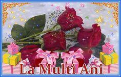 Felicitare de ziua nasterii: Happy Birthday, Rose, Beautiful, Happy Brithday, Pink, Urari La Multi Ani, Happy Birthday Funny, Roses, Happy Birth