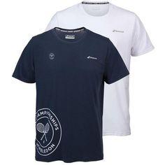Babolat Men's Wimbledon Logo T-Shirt -->  http://www.tenniswarehouse-europe.com/Babolat_Mens_Wimbledon_Logo_T-Shirt/descpageMAQDF-BMW7LT.html?lang=en&vat=GR&from=tnewsgr
