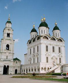 The Astrakhan Kremlin in Russia.