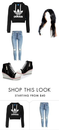 """""""Kat"""" by babyphlea ❤ liked on Polyvore featuring Topshop and NewStory"""