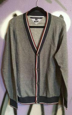 TOMMY HILFIGER Tommy Hilfiger Men'S Colorblocked Cotton Cardigan ...