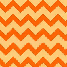 VARIOUS CHEVRON PRINTS 1 Bolt (10 yards) Cotton Orange Tonal Small Chevron Wholesale Fabric