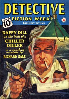Vintage Detective Fiction Weekly Magazine