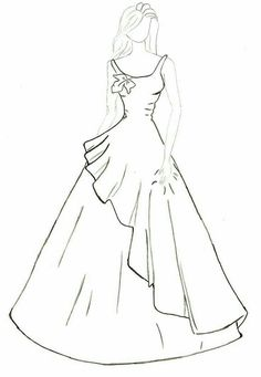 68 Ideas for fashion design drawings dresses Dress Design Drawing, Dress Design Sketches, Fashion Design Sketchbook, Fashion Design Drawings, Fashion Sketches, Dress Drawing, Fashion Model Drawing, Fashion Drawing Dresses, Dress Illustration