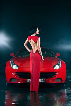 Photograph Eka & Ferrari FF by Alexey Sulima on – Sport Cars Ford Thunderbird, Exotic Sports Cars, Exotic Cars, Honda Civic, Rolls Royce, Up Imagenes, Mini Cooper S Jcw, Driving For Beginners, Car Poses