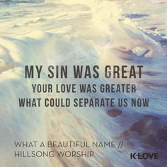 Yours is the Name above all names // WhatABeautifulName #HillsongWorship #KLOVE #music