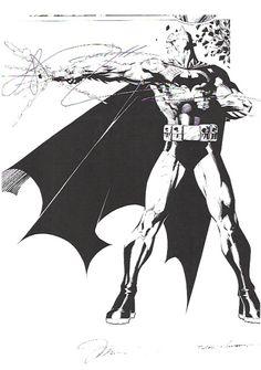 Batman by Jim Lee Batman Comic Books, Batman Comics, Comic Book Characters, Comic Character, Comic Books Art, Batman Drawing, Comic Drawing, Batman Artwork, Batman And Catwoman
