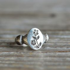 Chickweed Ring by Peg and Awl