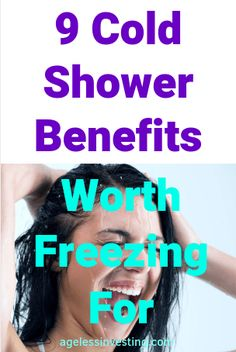Benefits Of Cold Showers, Theories Of Aging, Cold Water Shower, Water In The Morning, How To Get Motivated, Increase Testosterone, Ways To Wake Up, Depression Help, Improve Circulation