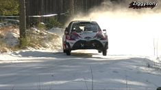 WRC Rally Sweden 2017 flat out maximum attack 6th gear